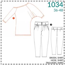 1034, Shirt: 1 - einfach