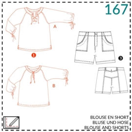 167, blouse: 1 - makkelijk