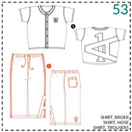 53, tricot broek: 1 - makkelijk