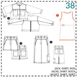 38, Shirt: 1 - einfach
