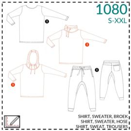 1080, Sweatshirt: 1 - einfach