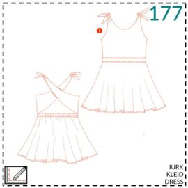 177, jurk: 1 - makkelijk
