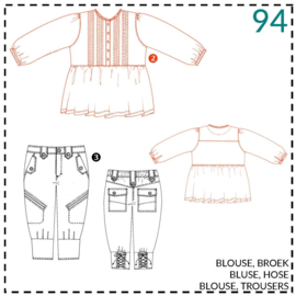 94, blouse: 2 - beetje ervaring