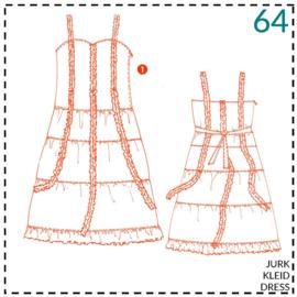 64, jurk: 1 - makkelijk