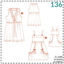136, jurkjes: 1 - makkelijk