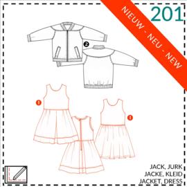 201, jurk: 1 - makkelijk