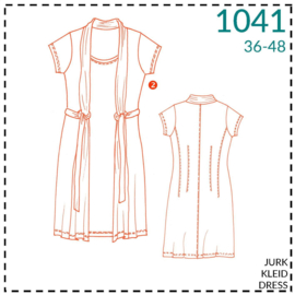 1041, dress: 2 - little experience
