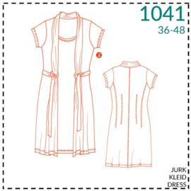 1041, jurk: 2 - beetje ervaring