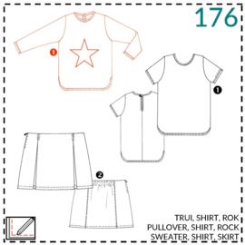 176, Pullover: 1 - einfach