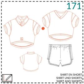 171, Shirt: 1 - einfach