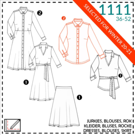 1111, blouse: 2 - beetje ervaring