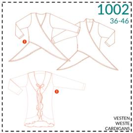 1002, Weste: 1 - einfach