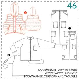 46, Bodywarmer: 2 - etwas Näherfahrung