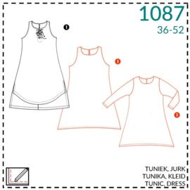 1087, Tunika: 1 - einfach