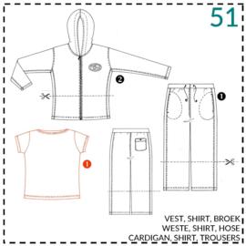 51, Shirt: 1 - einfach