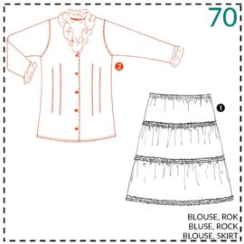 70, blouse: beetje ervaring