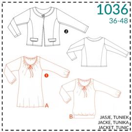 1036, Tunika: 1 - einfach