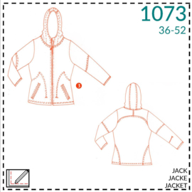 1073, outdoor jacket: 3 - advanced