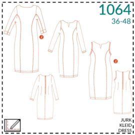 1064, dresses: 2 - little experience