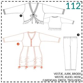 112, jurk: 2 - beetje ervaring