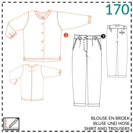 170, Hemd: 2 - etwas Näherfahrung