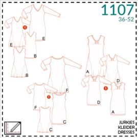 1107, jurkjes: 1 - makkelijk