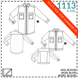 1113, Jacke und Bluse: 2 - etwas näherfahrung