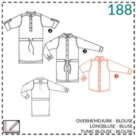 188, blouse: 2 - beetje ervaring