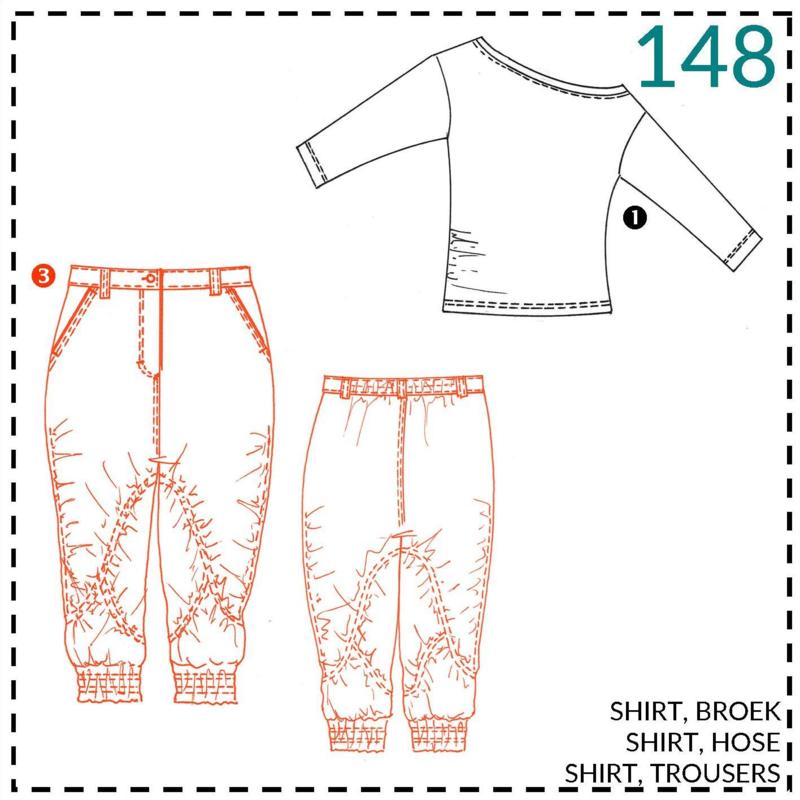 148, broek: 3 - ervaren