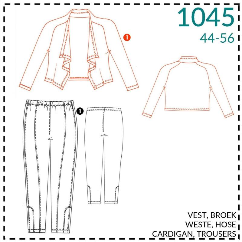 1045, vest: 1 - makkelijk