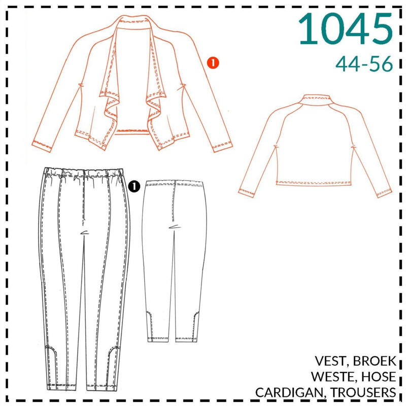 1045, vestje: 1 - makkelijk