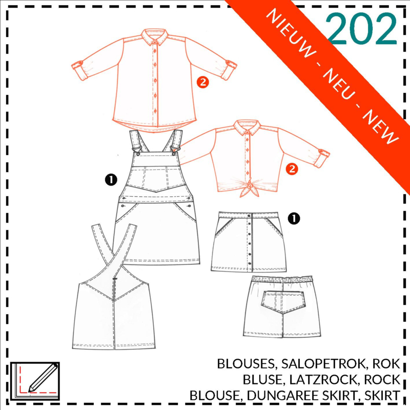202, blouse: 2 - beetje ervaring