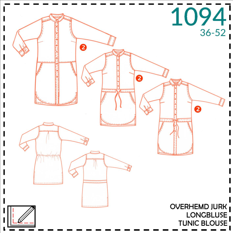 1094, tunic blouse: 2 - little experience