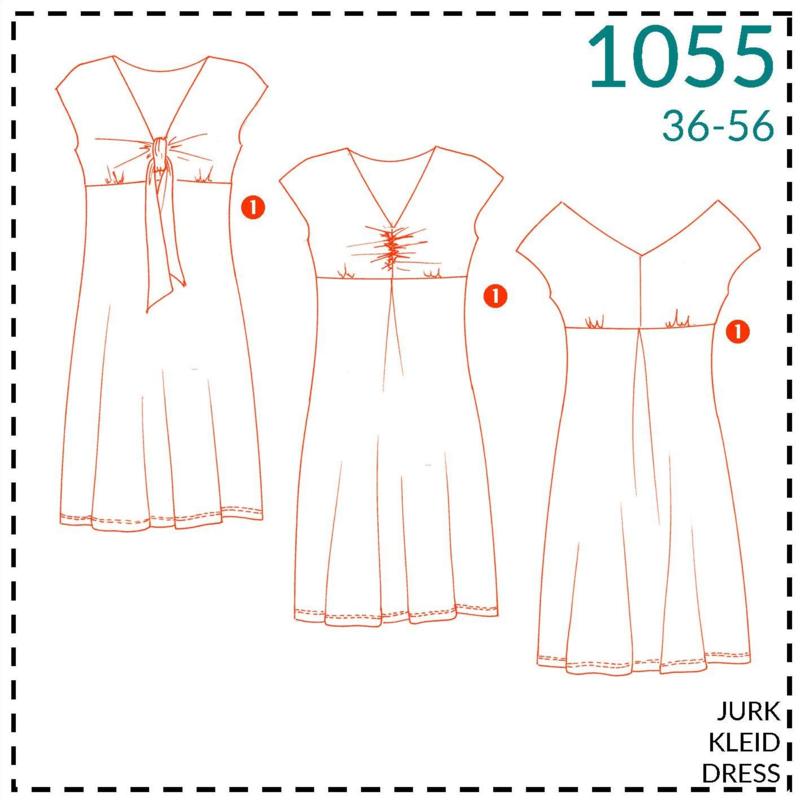 1055, jurken: 1 - makkelijk
