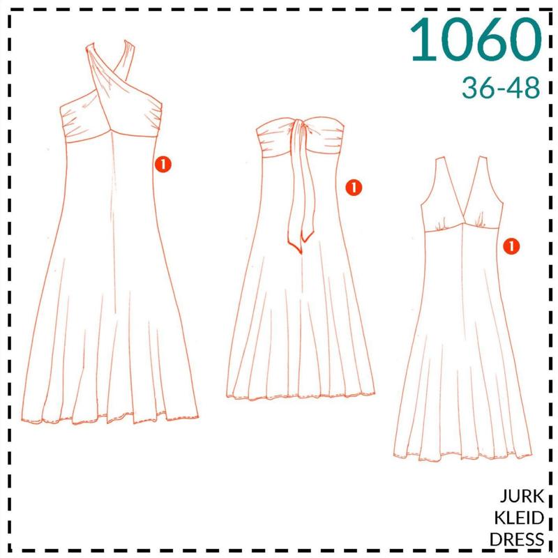 1060, jurk: 1 - makkelijk