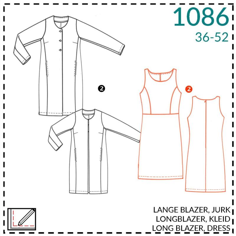 1086, Kleid: 2 - etwas Näherfahrung