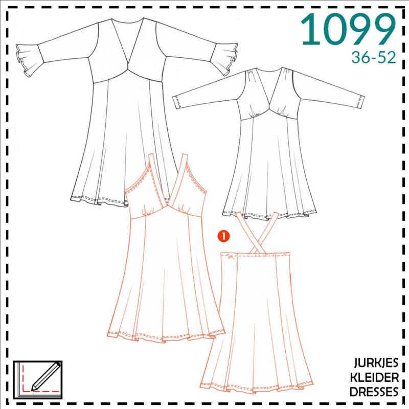 1099, dress: 1 - easy
