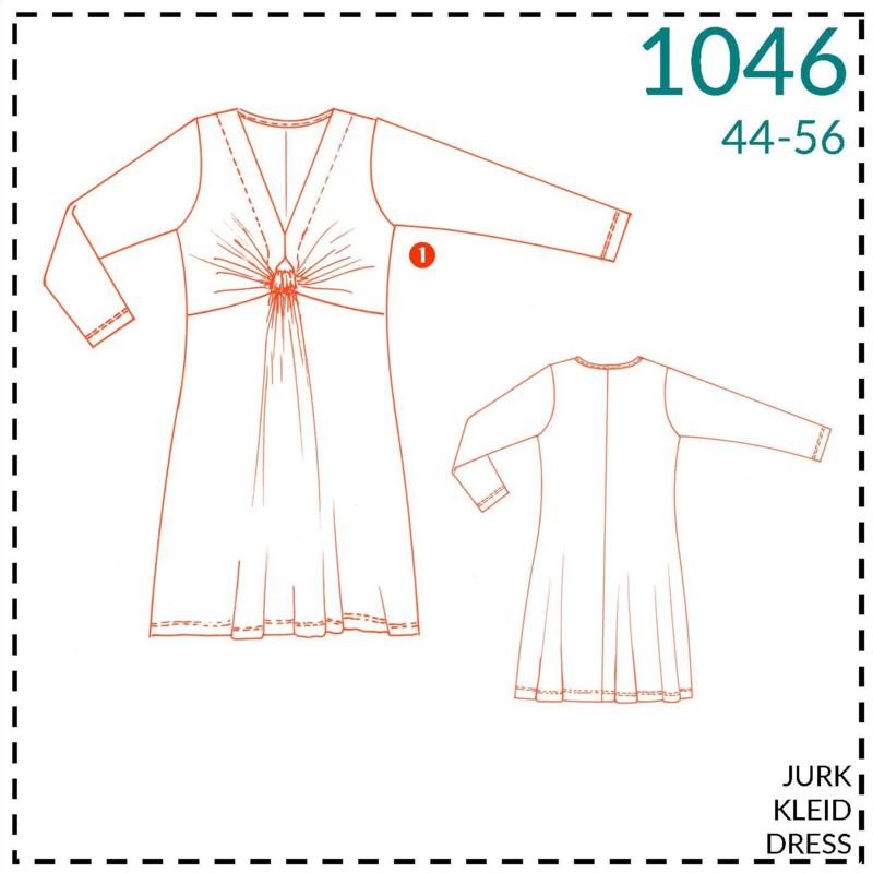 1046, jurk: 1 - makkelijk
