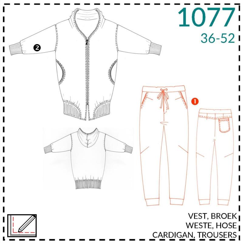 1077, broek: 1 - makkelijk