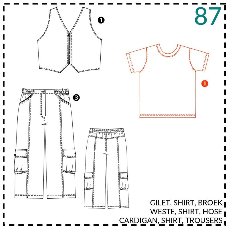 87, Shirt: 1 - einfach
