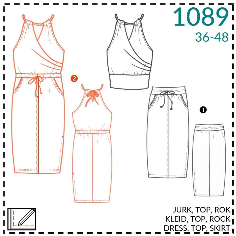 1089, jurk: 2 - beetje ervaring
