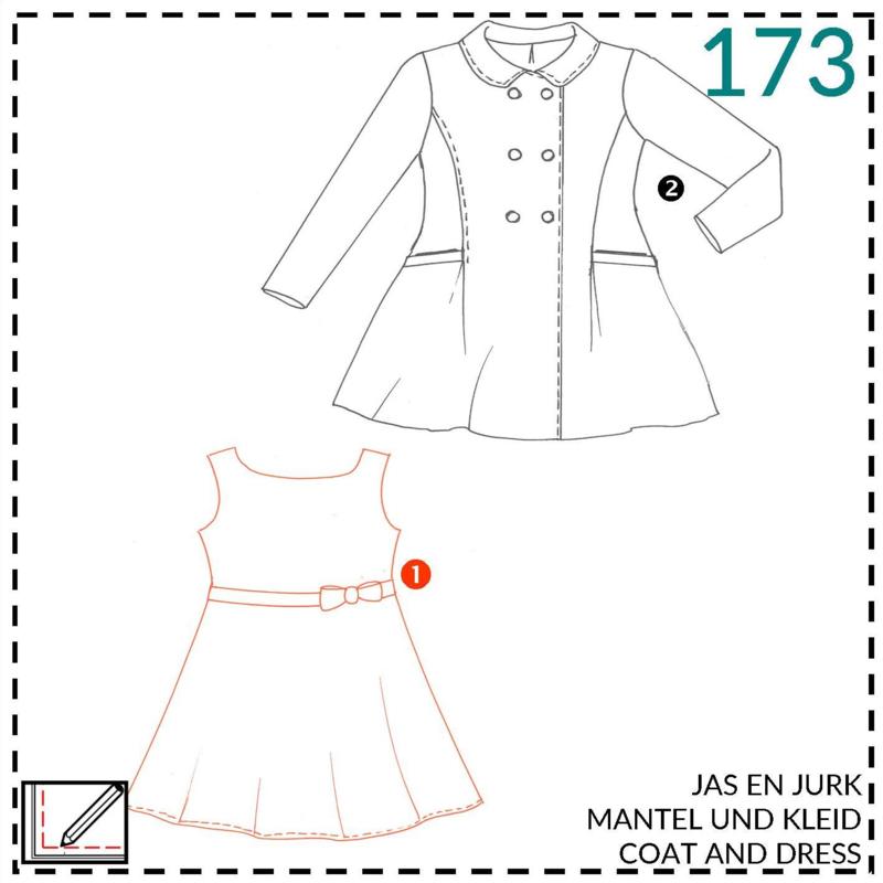 173, jurk: 1 - makkelijk