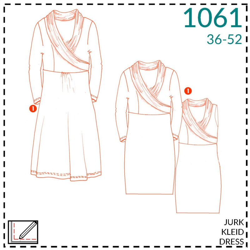 1061, jurk: 1 - makkelijk