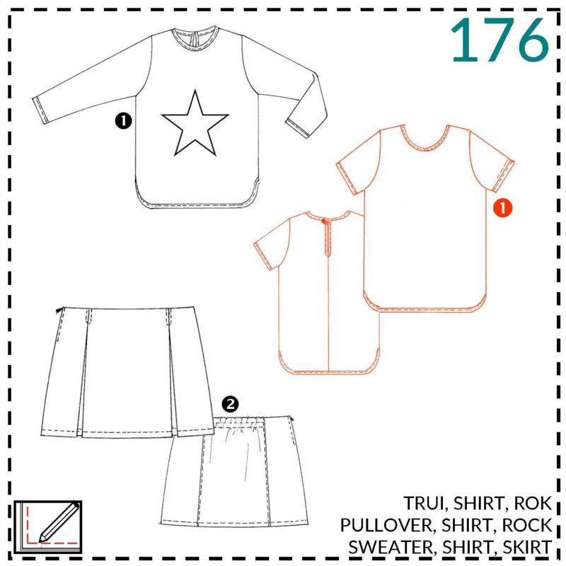 176, shirt: 1 - makkelijk