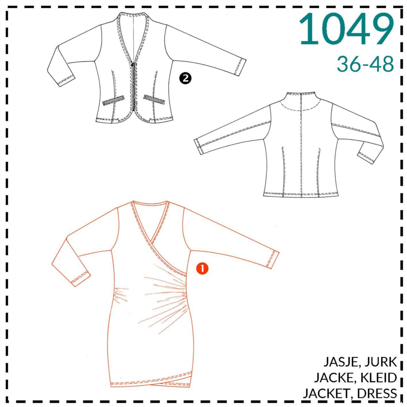 1049, jurk: 1 - makkelijk