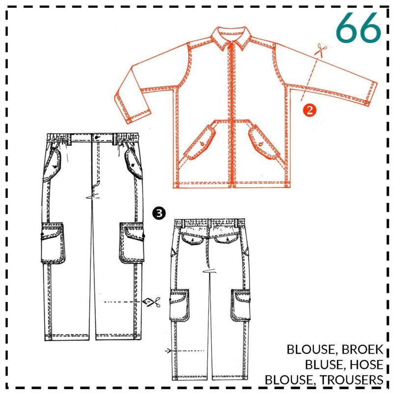 66, blouse: 2 - beetje ervaring
