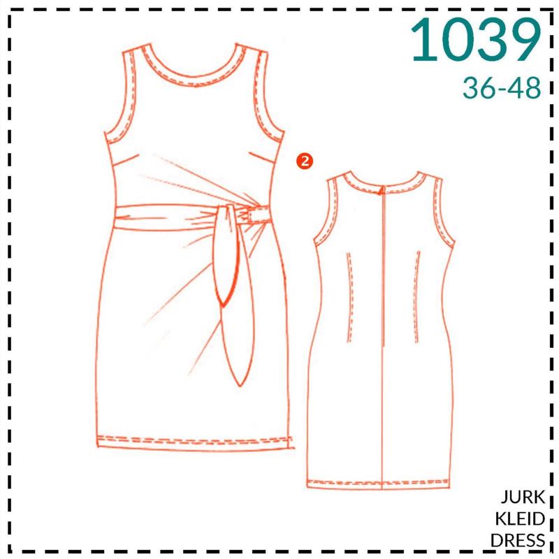 1039, jurk: 2 - beetje ervaring