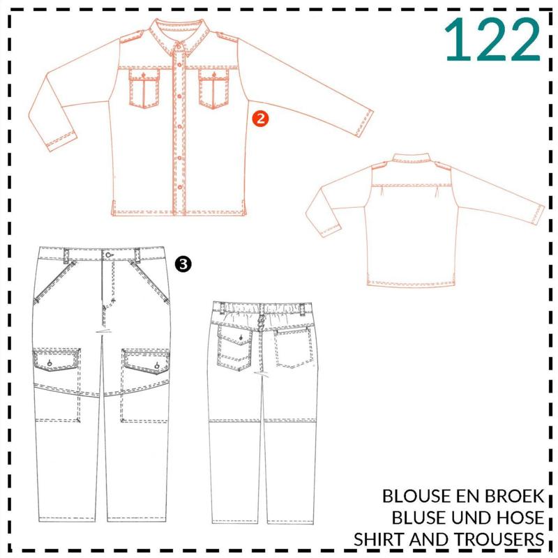 122, blouse: 2 - beetje ervaring