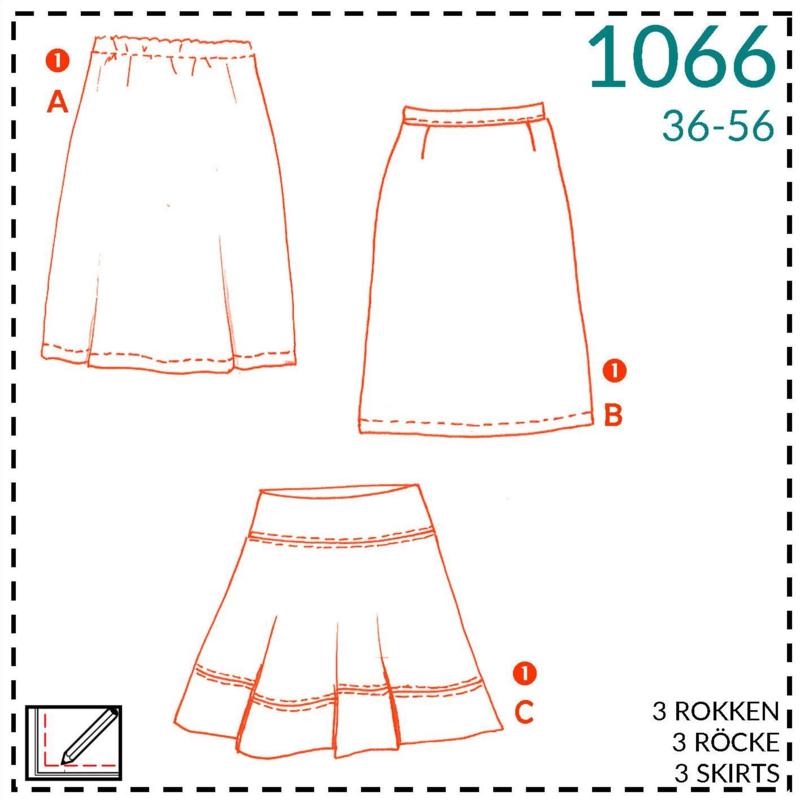 1066, rokken: 1 - makkelijk
