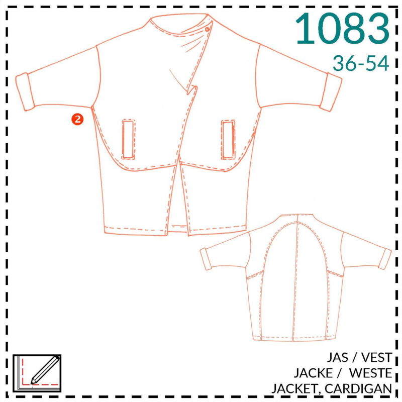 1083, jacket: 2 - little experience